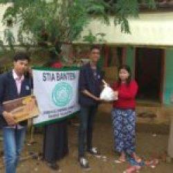 Penyaluran Bantuan Korban Gempa Lebak oleh LDK Baabul Falahiyah dan Lazis STIA Banten