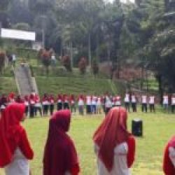 Mahasiswa STIA ikuti Training Outbound Di Kampung Awan